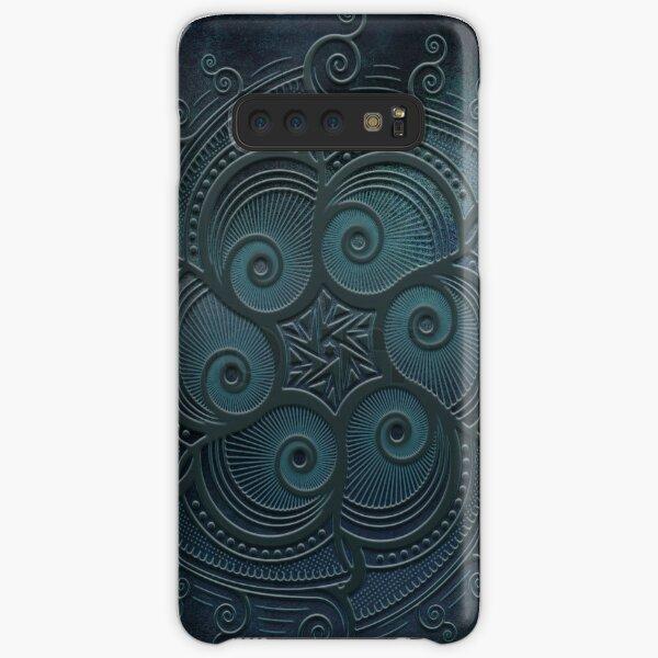 Mobile skin case mandala blue Samsung Galaxy Snap Case