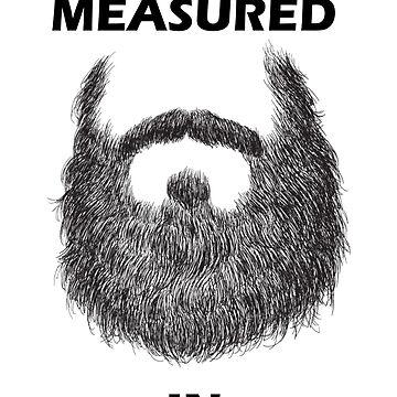 Wisdom Is Measured In Beards by BustleBuck