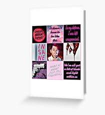I'm NOT Crazy! - Wilford Warfstache Greeting Card