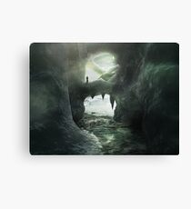 Ice Kingdom Canvas Print