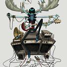 Bonebeard Bladdersplatter - Lord of Rock by Douglas Holgate