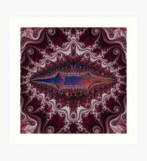 D1G1TAL-M00DZ ~ GALLIMAUFRY ~ Sunset by tasmanianartist Art Print