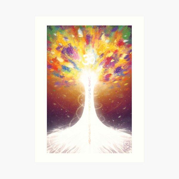 The Tree of The Loving Sun Art Print