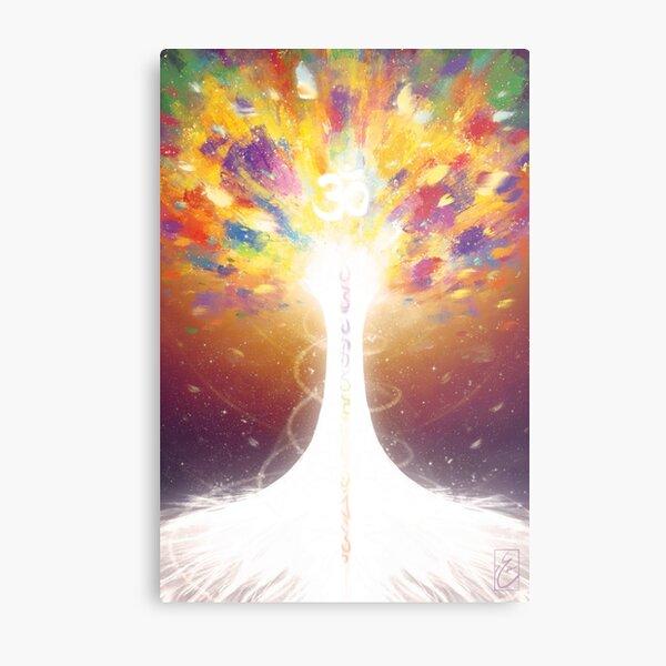 The Tree of The Loving Sun Metal Print