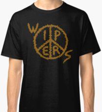 WIPERS (Punkband) Logo Gold Classic T-Shirt