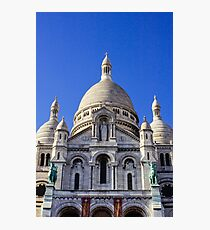 Sacre Coeur Front View Photographic Print