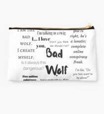 Rose Tyler- Bad Wolf Studio Pouch