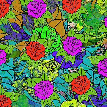 just flowers by MUMtees