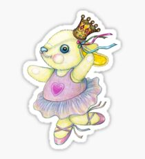Bunny Ballet Sticker