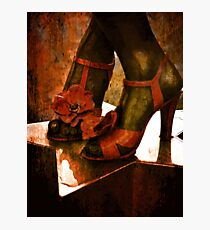 Divas Shoes Photographic Print