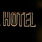 Hotel in neon  by Martina Nicolls
