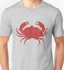 Mosaic Crab Unisex T-Shirt