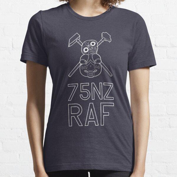 Tiki 75NZ RAF White Solid Essential T-Shirt