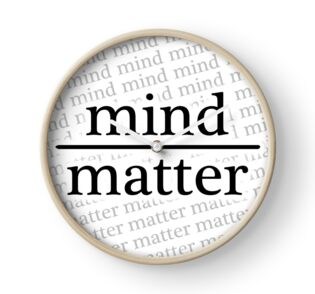 Quot Mind Over Matter White Quot Stickers By Eniac Redbubble