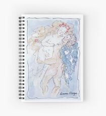 Angel of Love Spiral Notebook