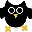 BLACK OWL by KAI Copenhagen by KAI-Copenhagen