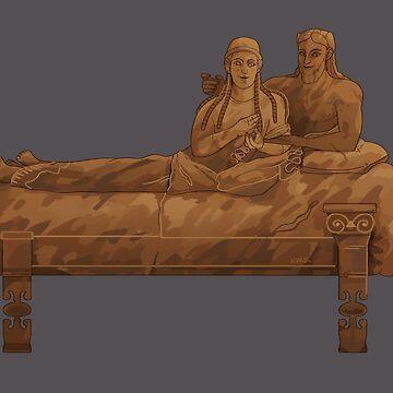Sarcofago Degli Sposi by flaroh
