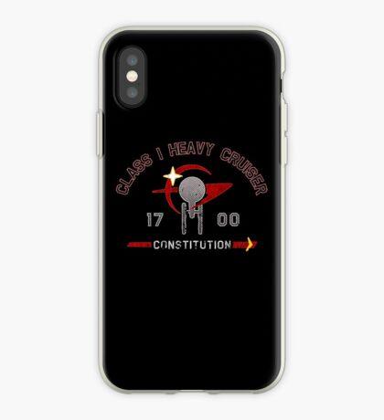 Heavy Class Cruiser Back - Dark iPhone Case