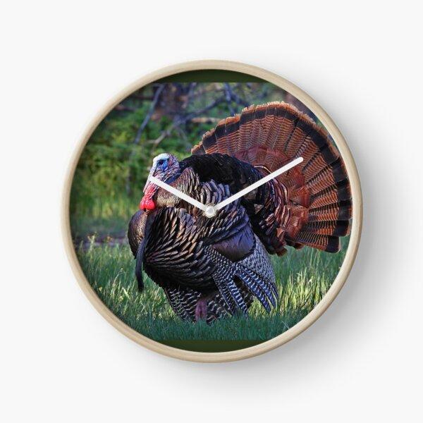 Tom Turkey - Wild Turkey Clock