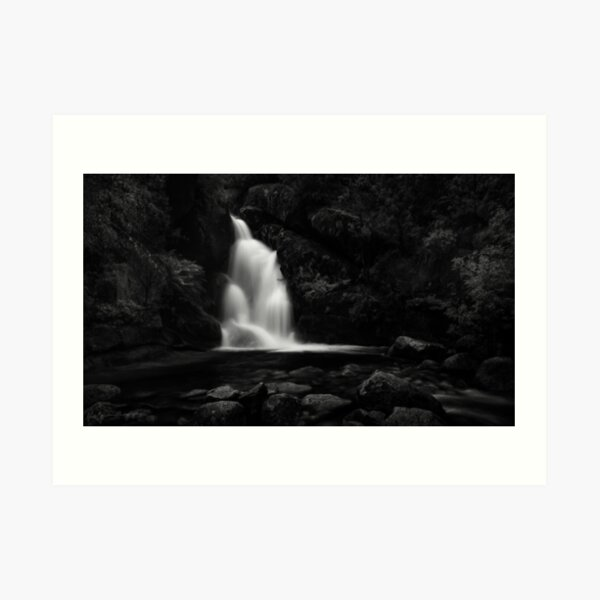 The Lady of the Mountain Art Print