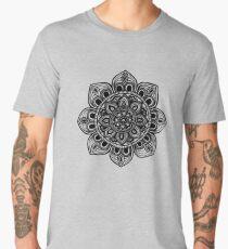 Black Mural Mandala - Art&Deco By Natasha Men's Premium T-Shirt