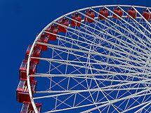 Red, White & Blue Wheel by Brian Gaynor