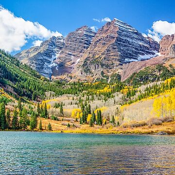 Maroon Bells by glasere