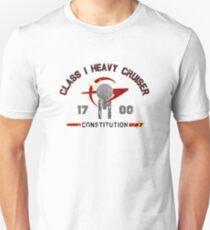 Heavy Class Cruiser Back - light Unisex T-Shirt