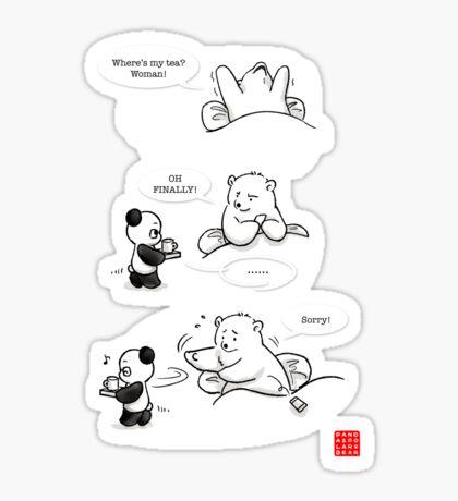 Tea-sing Sticker