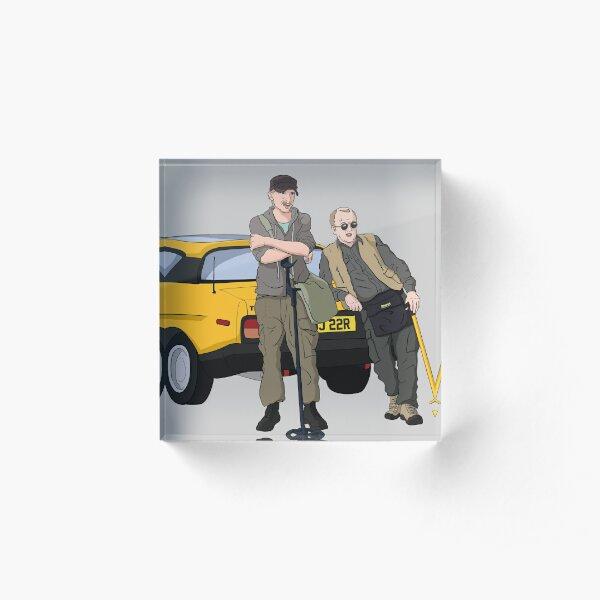 Detectorists - Lance & Andy - DMDC Acrylic Block