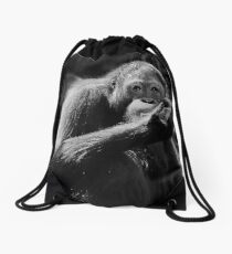 Food For Thought Drawstring Bag