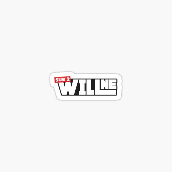 sub 2 willne sticker Sticker