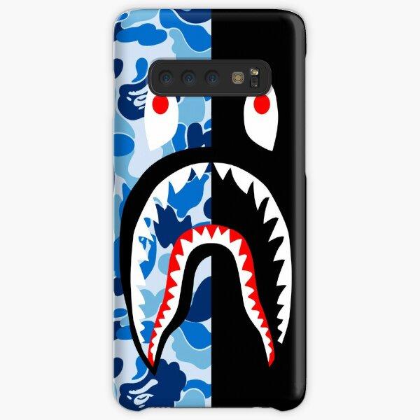 blue black blacky Samsung Galaxy Snap Case