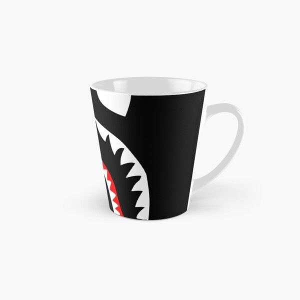 bleu noir noir Mug long