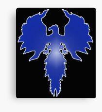 Blue Phoenix 11 Canvas Print