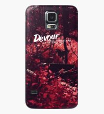 Devour All Who Stand In Your Way (Infrared) Case/Skin for Samsung Galaxy