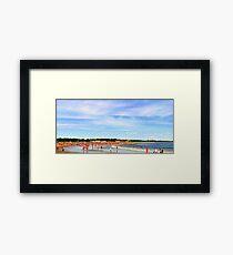 Narragansett Beach, RI, USA Framed Print
