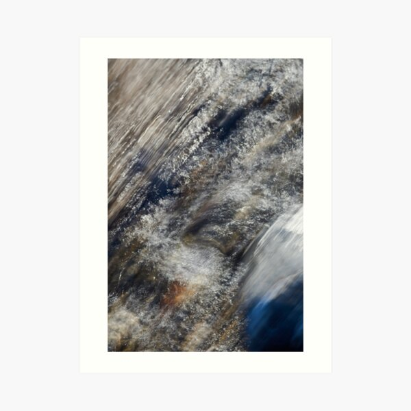 Rushing to the Sea Art Print