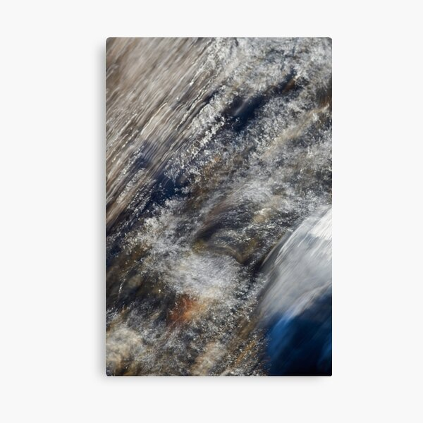 Rushing to the Sea Canvas Print