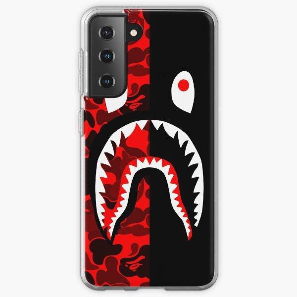 red black grapic Samsung Galaxy Soft Case