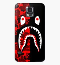 red black grapic Case/Skin for Samsung Galaxy