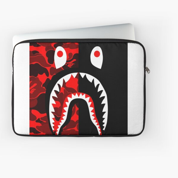 red black grapic Laptop Sleeve