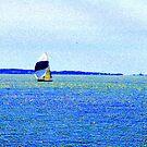 Sailing Off Block Island by mooner1