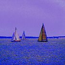 Sailing Off Block Island (2) by mooner1