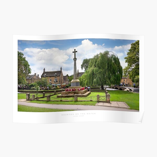 Bourton on the Water, Gloucestershire Poster