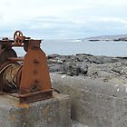 Pure Rust Gold - (1920) Back in The Day - Culdaff pier (Bunnagee), County Donegal,Ireland by mikequigley