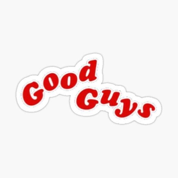 Pegatina Good Guys Pegatina