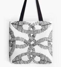 Irish Knot Hand Drawn Ink Pattern Tote Bag