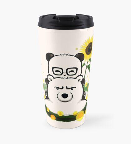 Bears and Sunflowers Travel Mug