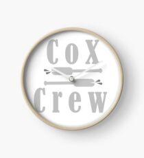 Cox Crew Clock